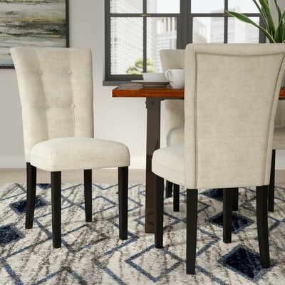 Maynor Side Chair (Set of 2) Upholstery: Beige