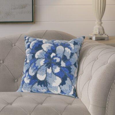 Calderon Mum Indoor/Outdoor Throw Pillow Color: Blue