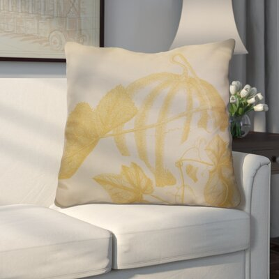 Miller Hand Towel Stagecoach Floral Euro Pillow Color: Gold