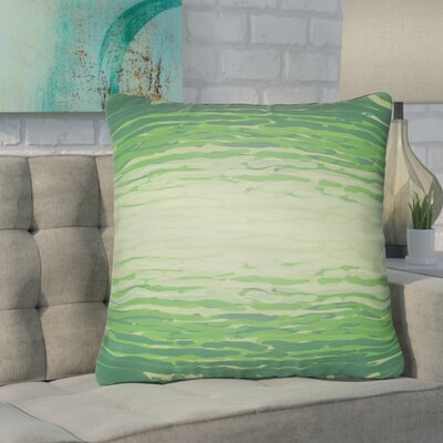 Konnor Indoor/Outdoor Throw Pillow Color: Emerald