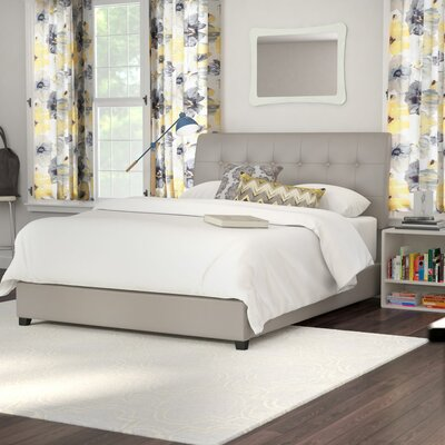 Griffith Upholstered Panel Bed Size: Queen