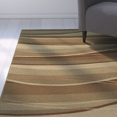 Sandrine Cafe Brown/Gray Area Rug