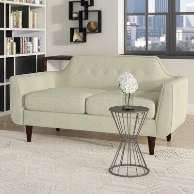 Ewing Loveseat Upholstery: Beige