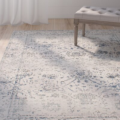 Villers Cream Area Rug Rug Size: Rectangle 53 x 73