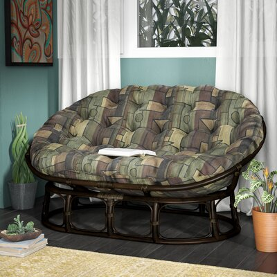 Bouirou Papasan Chair Fabric: Picasso
