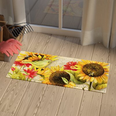 Dollie Sunflowers Sassafras Doormat
