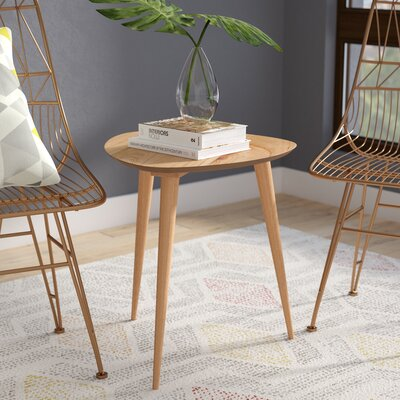 Martina End Table Color: Natural