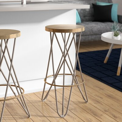 Buell 30 Bar Stool Finish: Beige
