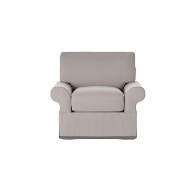 Casey Armchair Body Fabric: Spinnsol Greystone