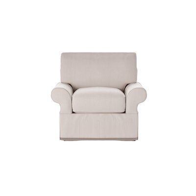 Casey Armchair Body Fabric: Sunbrella� Canvas Flax
