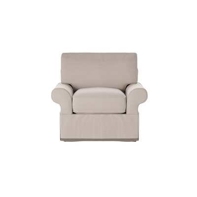 Casey Armchair Body Fabric: Hilo Flax