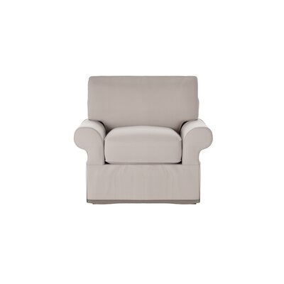 Casey Armchair Body Fabric: Bayou Stone