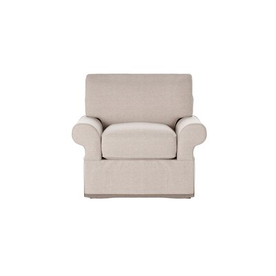 Casey Armchair Body Fabric: Shack Biscuit