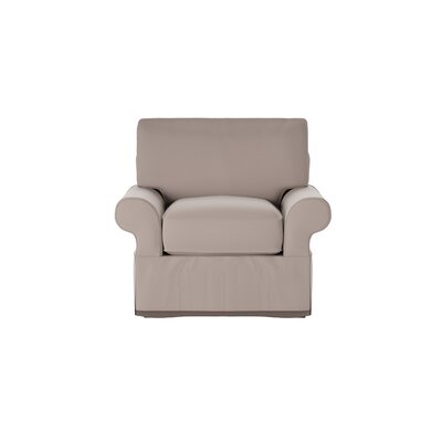 Casey Armchair Body Fabric: Godiva Putty