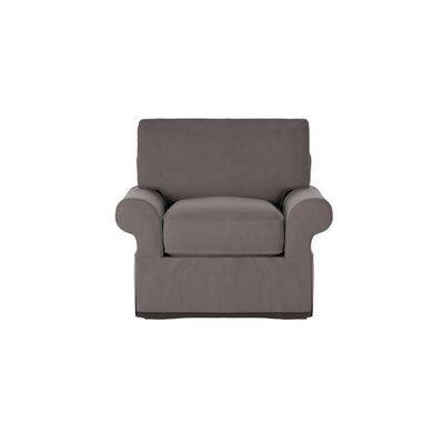 Casey Armchair Body Fabric: Spinnsol Iron