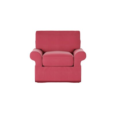 Casey Armchair Body Fabric: Sunbrella� Flagship Red