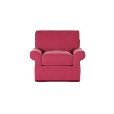 Casey Armchair Body Fabric: Bayou Flame
