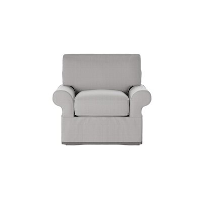 Casey Armchair Body Fabric: Glynnlinen Dove