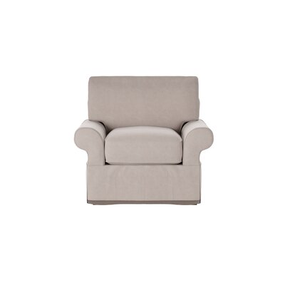 Casey Armchair Body Fabric: Tibby Linen