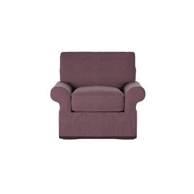 Casey Armchair Body Fabric: Pebble Berrycrush
