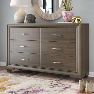 Hurst 6 Drawer Double Dresser