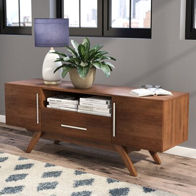 Barclay 59 TV Stand Color: Brown