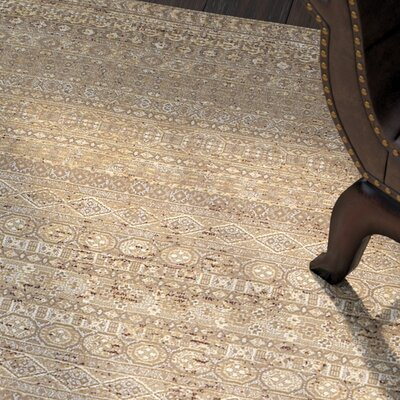 Char Sage Grey Rug Rug Size: Rectangle 92 x 129