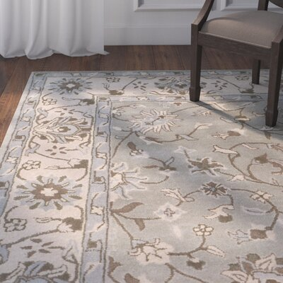 Meriden Hand-Tufted Beige/Gray Area Rug