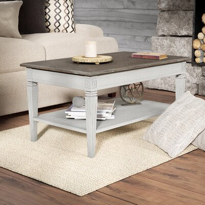 Saire Coffee Table Color: Antique Gray