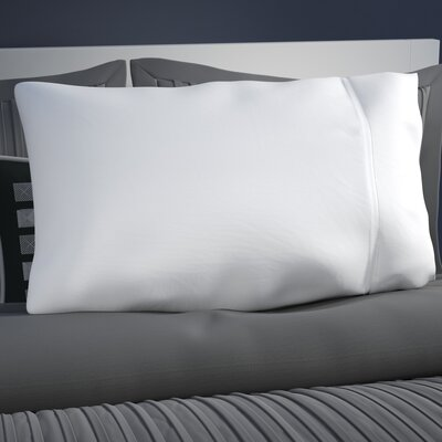 Klein Pillow Case Size: Standard, Color: White
