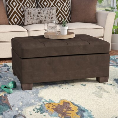 Telescopium Sectional Ottoman Upholstery: Chocolate