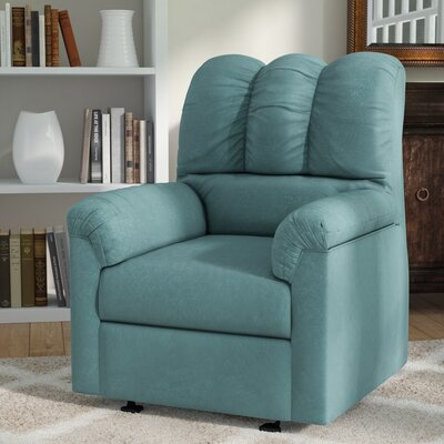 Huntsville Manual Rocker Recliner Upholstery: Sky