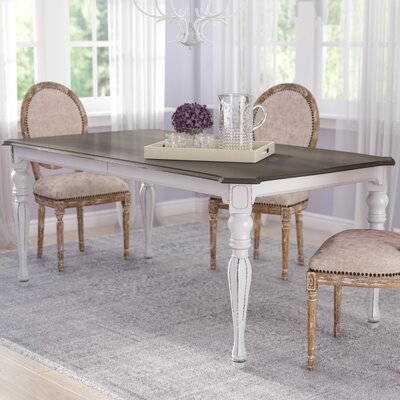Tiphaine Extendable Dining Table Size: 30 H x 90 L x 40 D