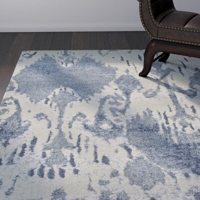 LaTayna Denim Area Rug Rug Size: Rectangle 96 x 132