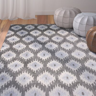 Durrant Hand-Tufted Brown Area Rug Rug Size: Rectangle 5 x 8