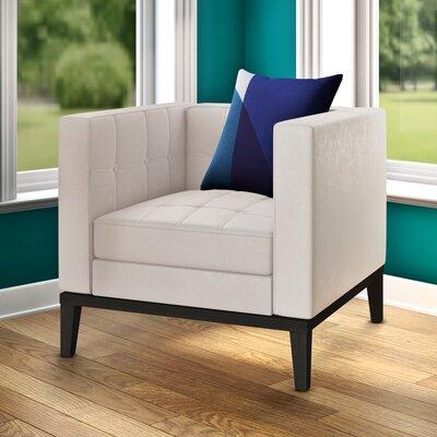 Verdi Armchair Upholstery: Cream