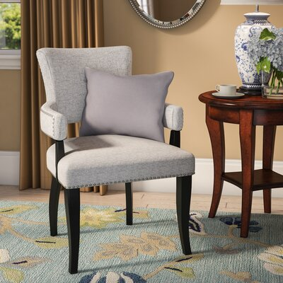 Gilberton Arm Chair Upholstery: Gray