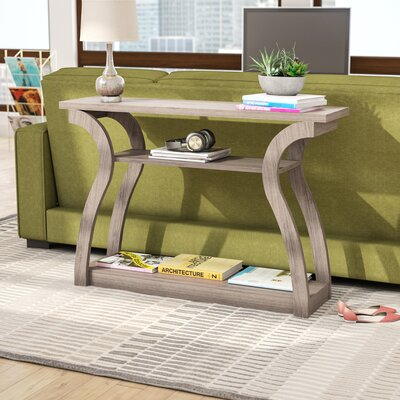 Gwyneth Console Table Color: Dark Taupe