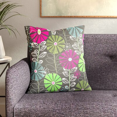 Cape Town Blooms Throw Pillow Size: 20 x 20