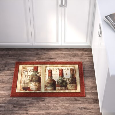 Ayers Village French Cellar Printed Mat Mat Size: 18 x 26