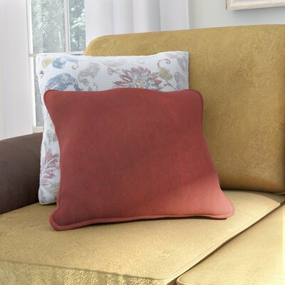 Hargreaves Corded Throw Pillow Color: Red Wine