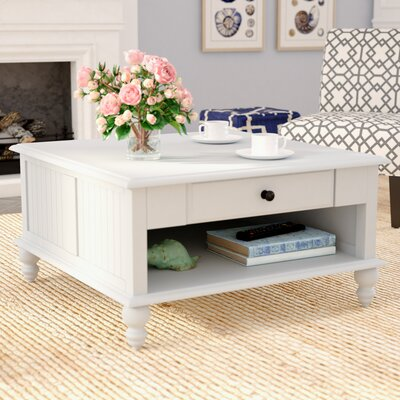 Witherspoon Square Coffee Table Color: Beach White