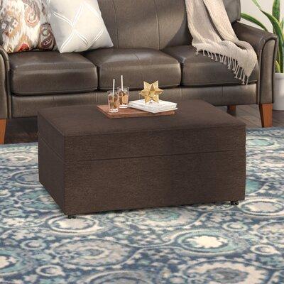Serta Upholstery Blackmon Ottoman Upholstery: Furby Chocolate