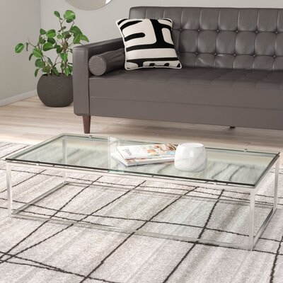 Bellewood Coffee Table Color: Clear