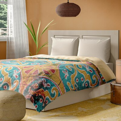 Theo Duvet Cover Size: King, Color: Multi