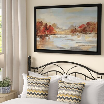 'Late Fall Reminiscence' Framed Painting Print Size: 32