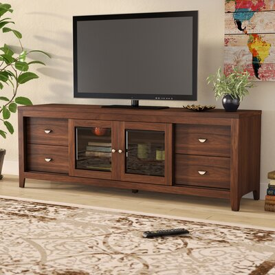Dezirae TV Stand Color: Acacia