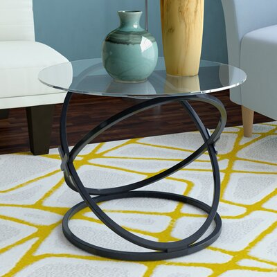 Shelly Coffee Table Set of 3 Color: Black