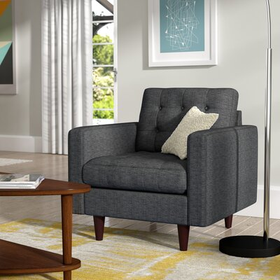 Warren Armchair Upholstery: Gray