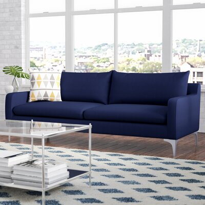 Buehler Sofa Upholstery: Navy Blue